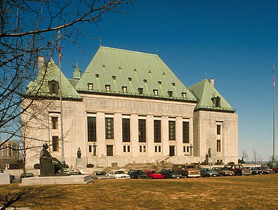 The Supreme Court of Canada (courtesy Corel Professional Photos)