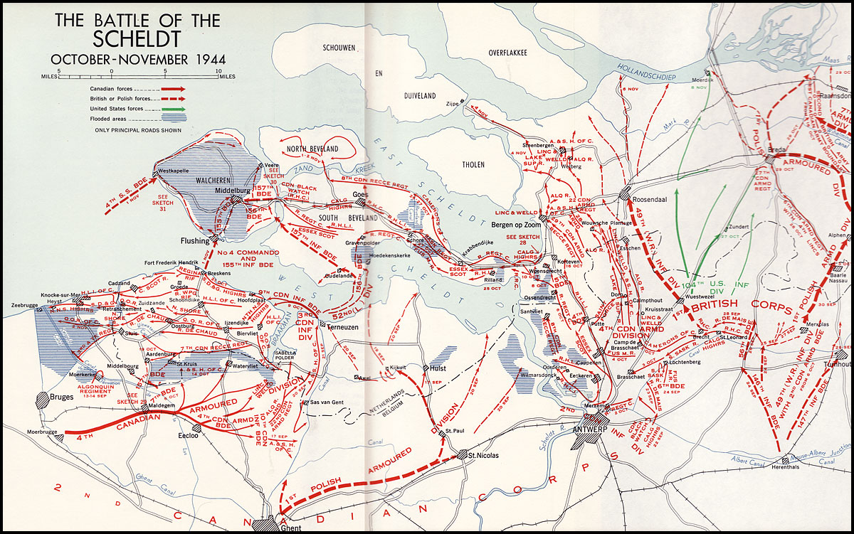 Canada and the Battle of the Scheldt | The Canadian Encyclopedia