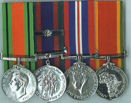 Betty Dimock's medals