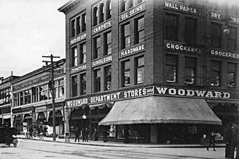 Woodward's Department Store building, 190?