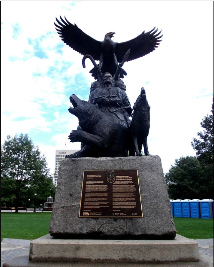 National Aboriginal Veterans Monument, Ottawa.