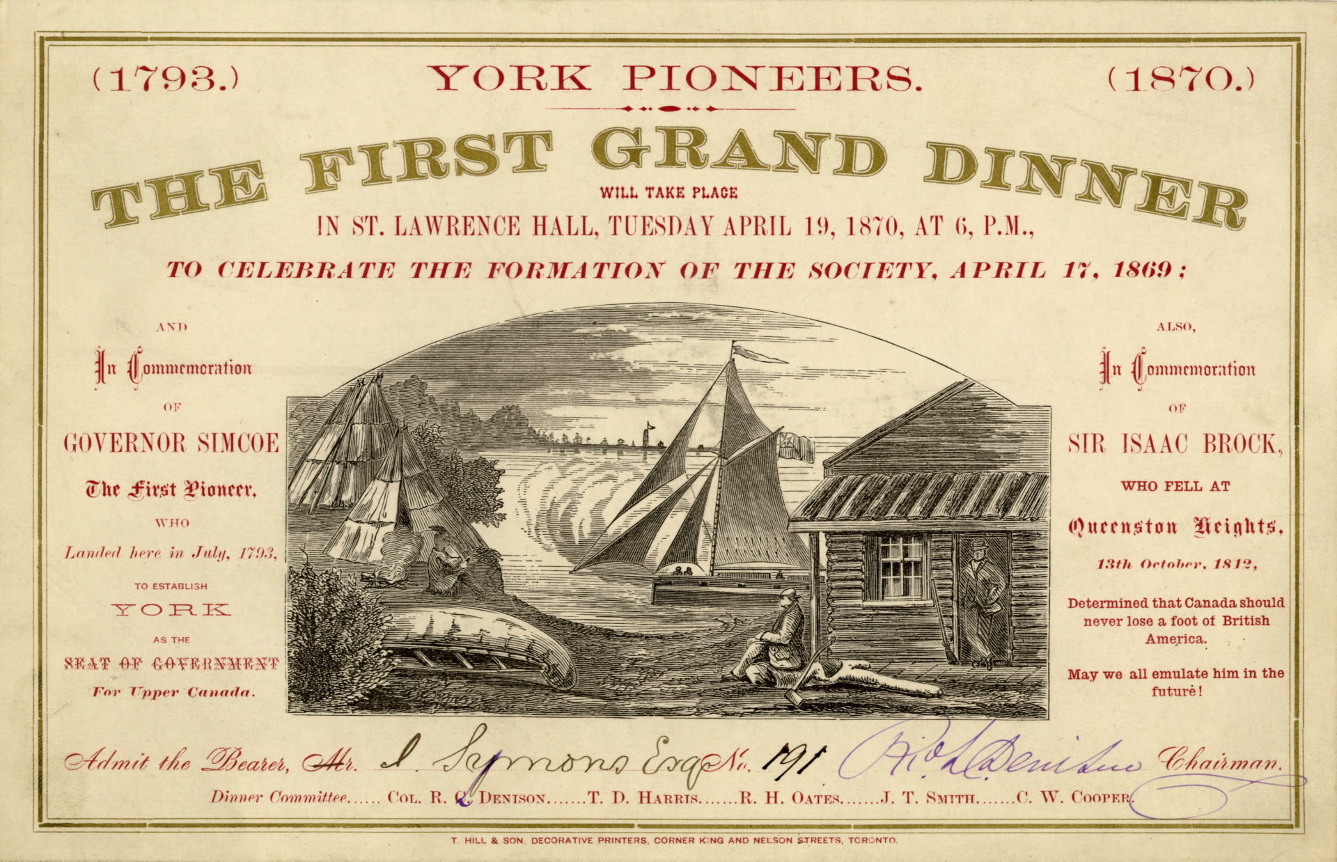York Pioneers Invitation