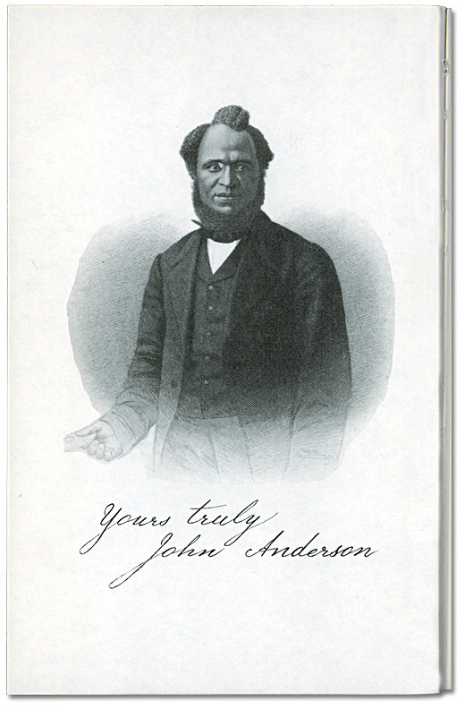 Portrait of John Anderson