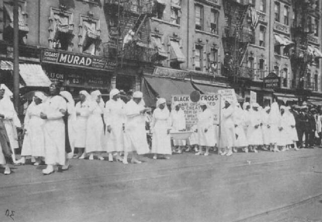 Black Cross Nurses in Canada