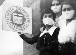 1918 Spanish Flu in Canada