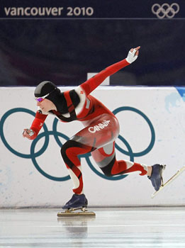 Christine Nesbitt, speed skater