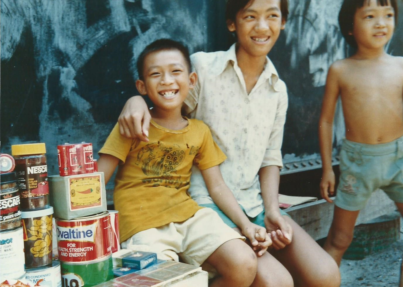 Pulau Bidong Refugees Camp, 1979