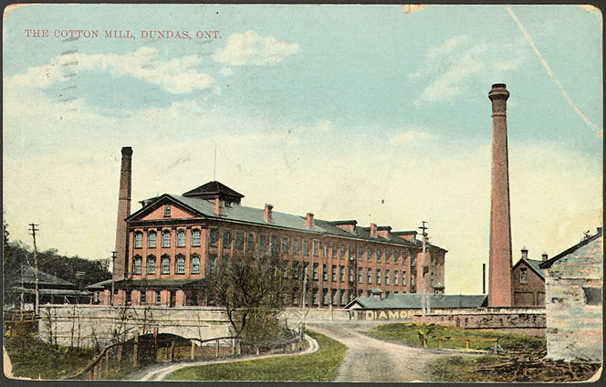 Dundas Cotton Mill.