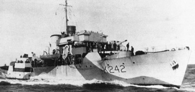 HMCS Ville de Quebec in the Battle of the Atlantic
