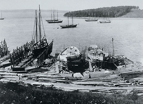 Construction de schooners