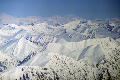 Kluane Mountain Range