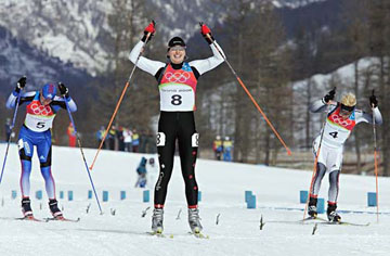 Chandra Crawford, cross-country skier