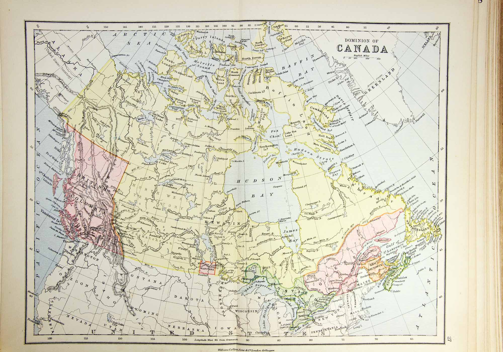 Easy Map Of Canada.Canadian Geography Easy The Canadian Encyclopedia