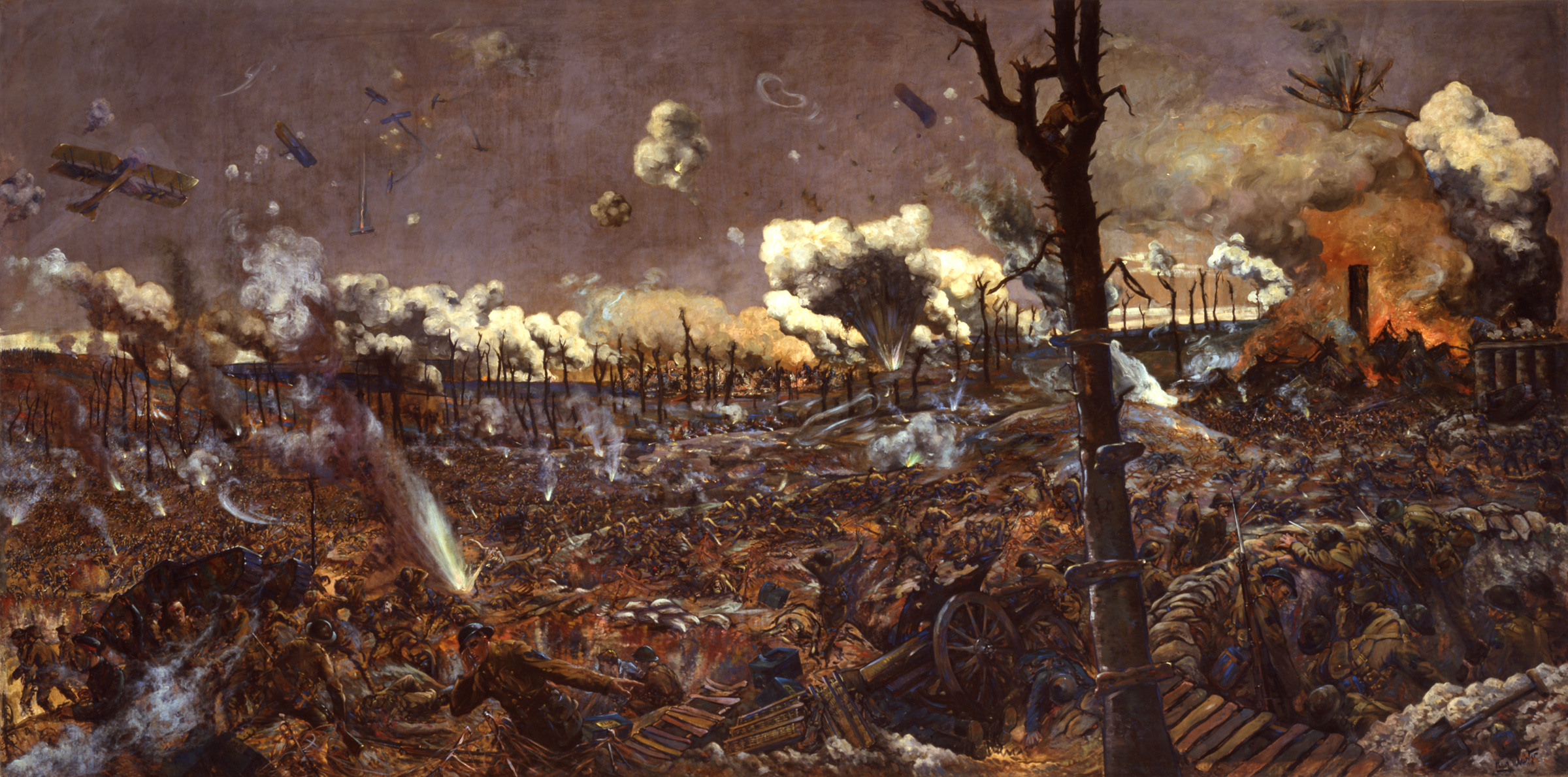 """The Battle for Courcelette,"" 1916"