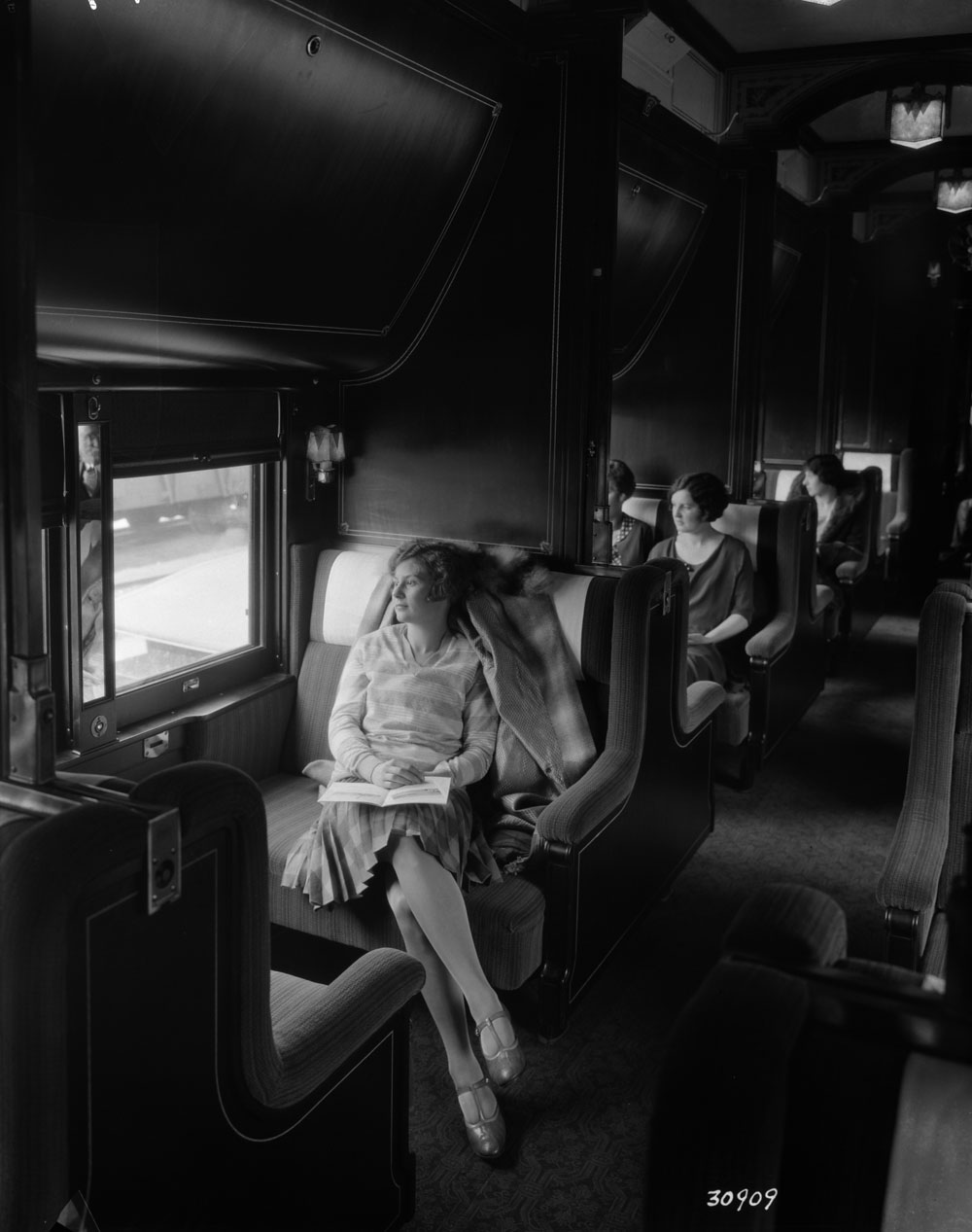 Sleeping Car Interior