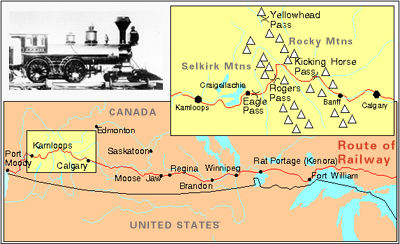 Canadian Pacific Railway, Map