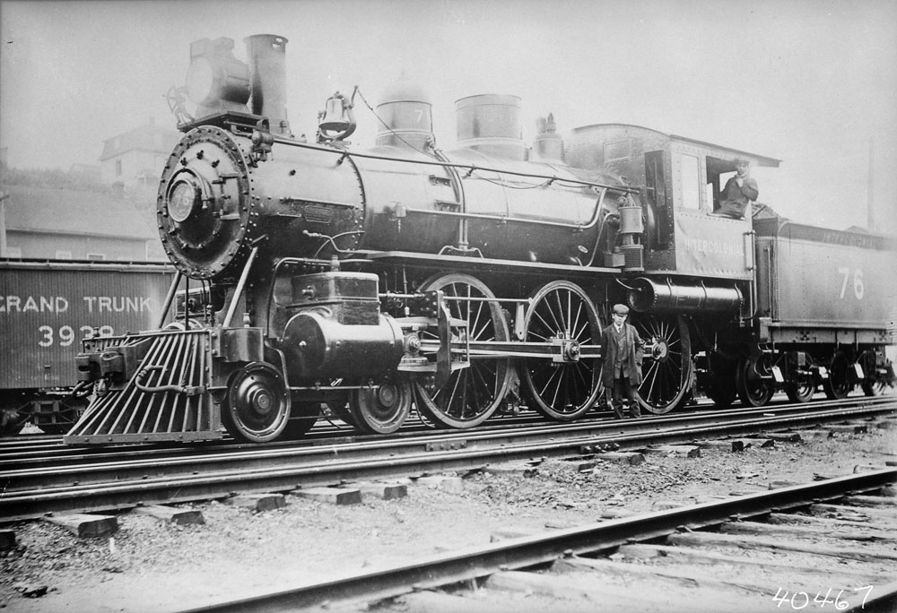 Locomotive No. 76 de l