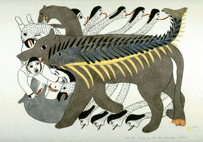 Inuit Printmaking - The Canadian Encyclopedia