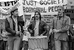 a history of colonialism on native lands and discrimination in canada That: indigenous to the lands they inhabit, in contrast to and in con- tention with  the  homelands in canada, for example, the so-called british columbia treaty.