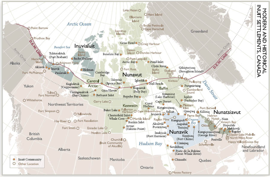 Arctic Circle The Canadian Encyclopedia