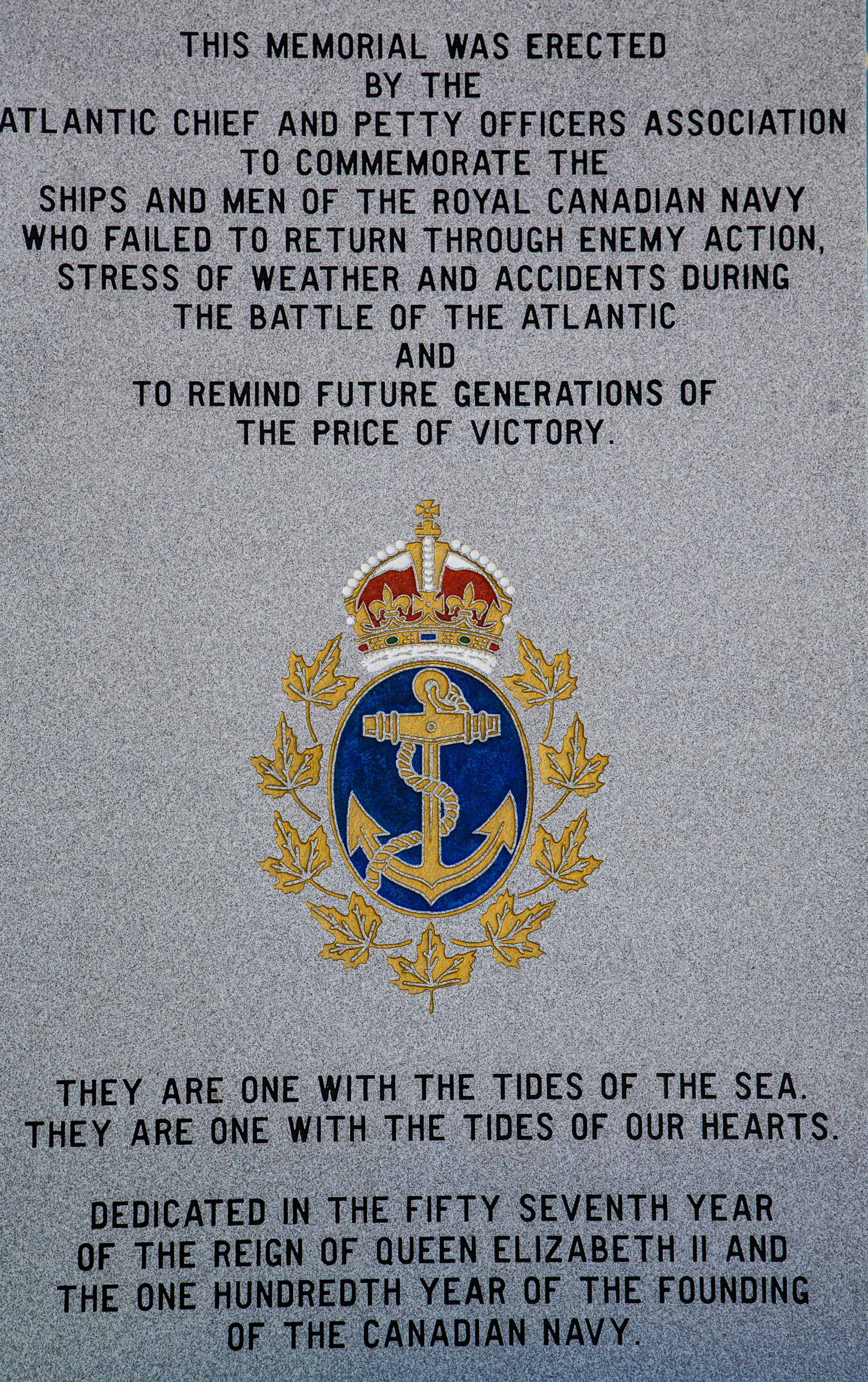 Royal Canadian Naval Memorial