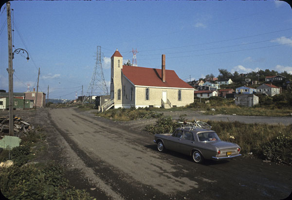Seaview Baptist Church in Africville, NS.