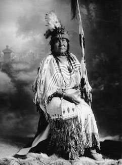 Wife of Kainai (Blood) Elder