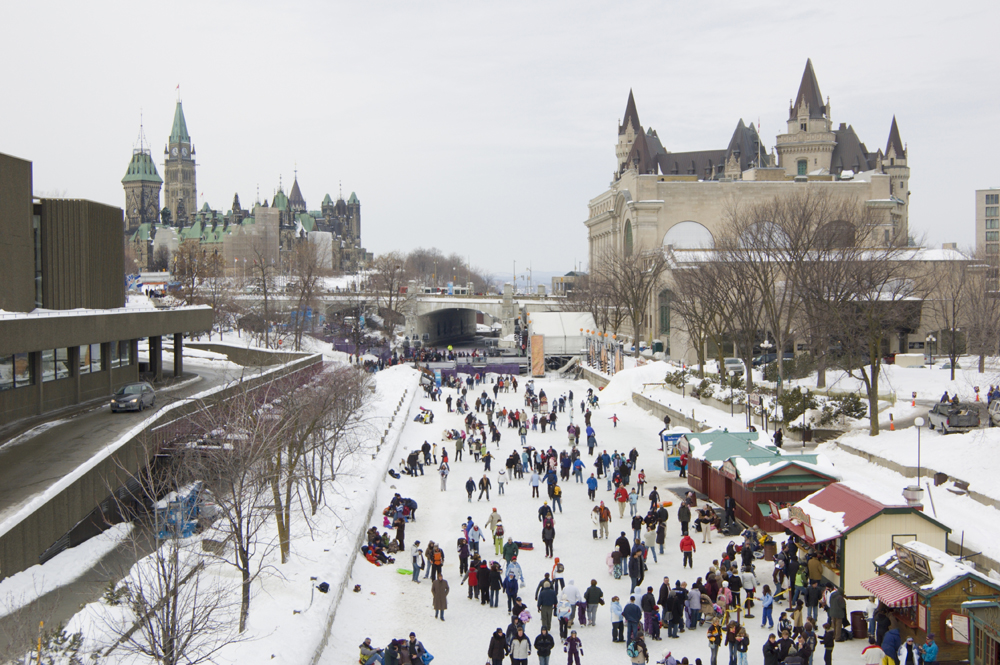 Rideau Canal, Winter