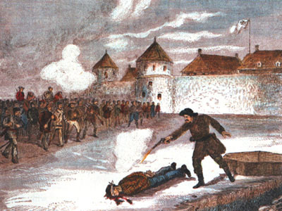 Execution of Thomas Scott