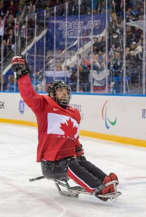 Billy Bridges, Sledge Hockey, 2014 Paralympic Winter Games