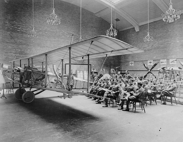 School of Aviation, 1917