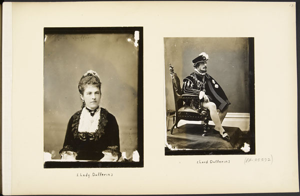 Lady Dufferin et Lord Dufferin