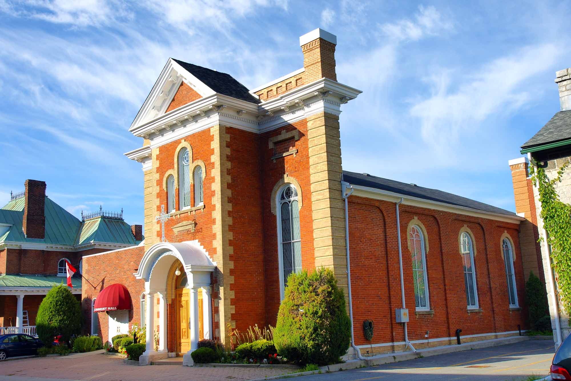 L'église orthodoxe greque Saint Athanassius à Kingston en Ontario au Canada