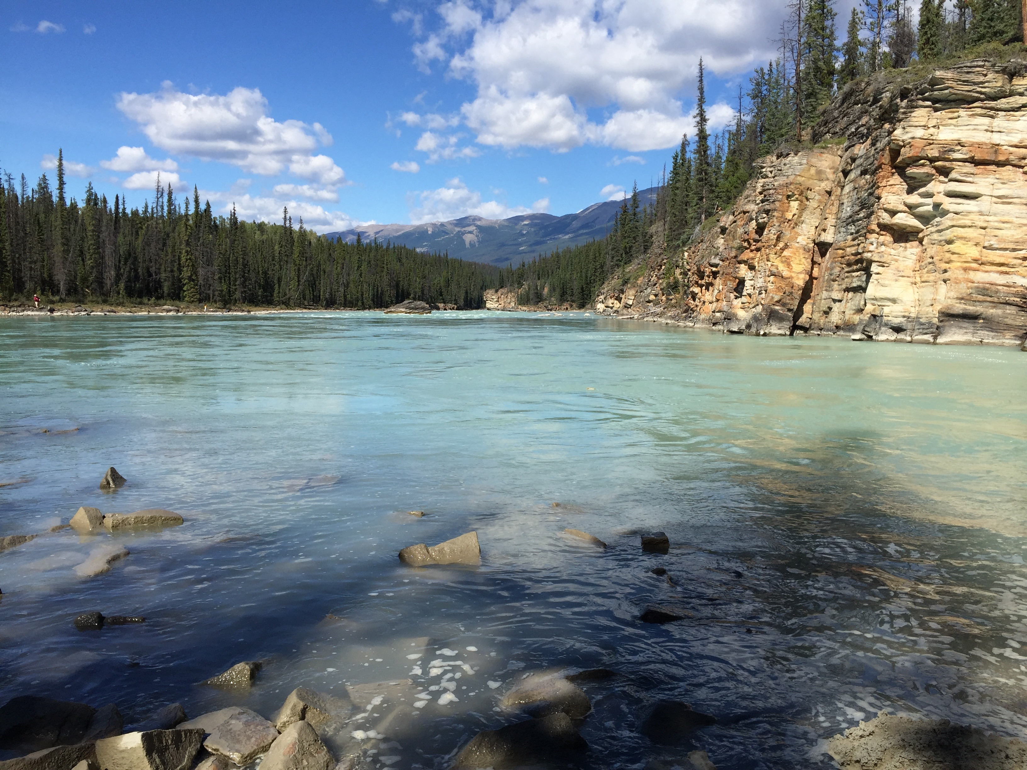 Athabasca river the canadian encyclopedia for Ice fishing cabins alberta