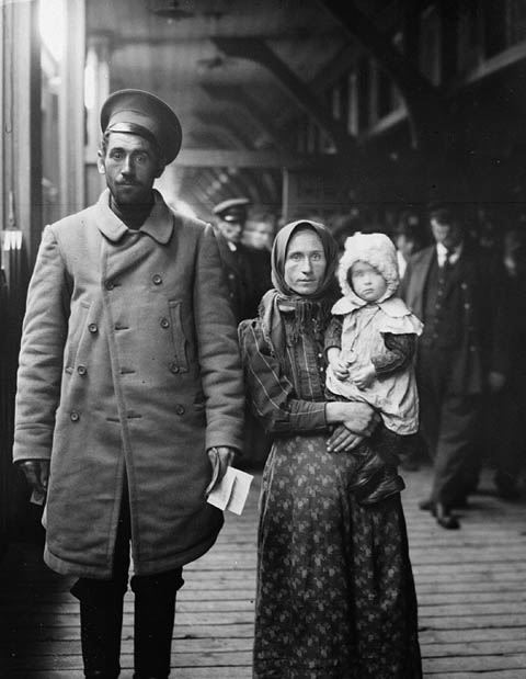 Des immigrants néerlandais en 1911