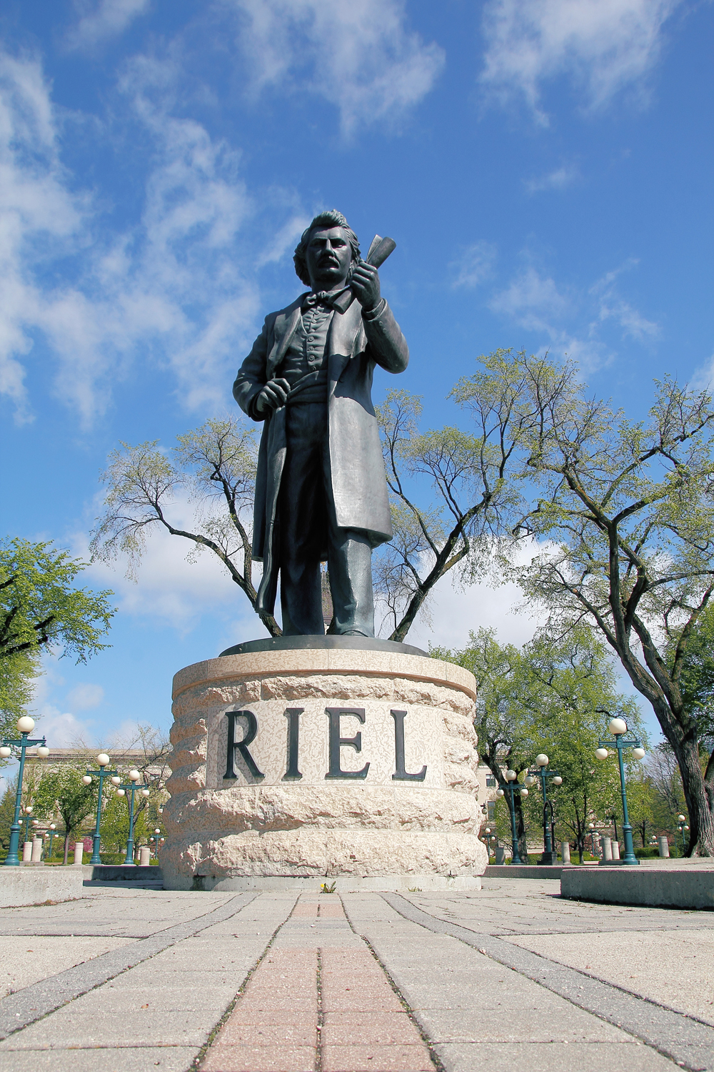 Sculpture de Louis Riel