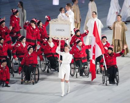 Opening Ceremonies, Paralympic Games, Sochi 2014