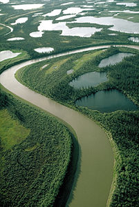Mackenzie River at Fort Good Hope