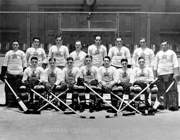 Canadian Olympic Hockey Team, 1936