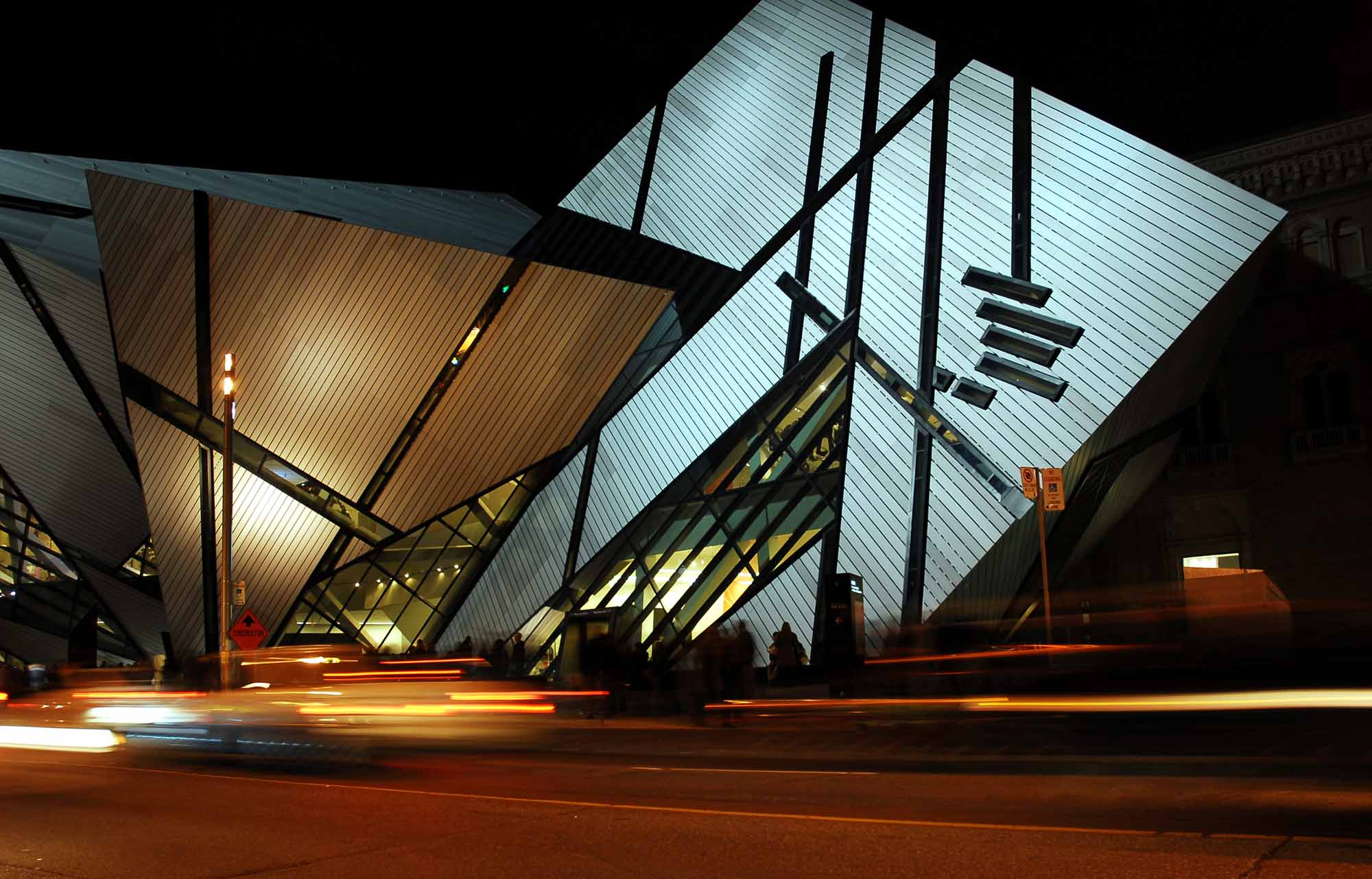 ROM at Night