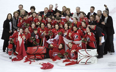 Canadian Olympic Hockey Teams