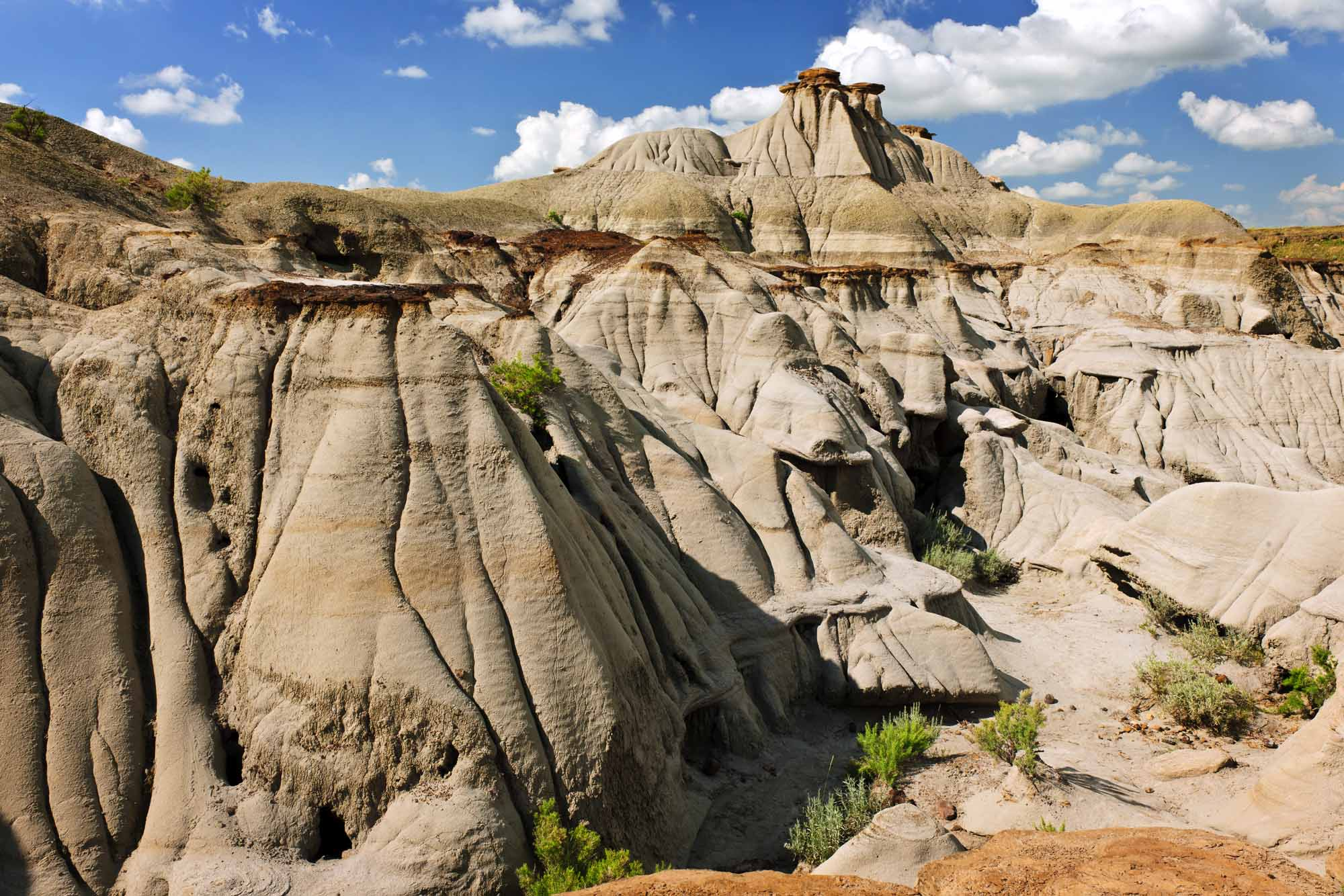 Badlands in Alberta