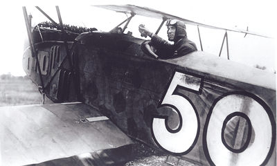 Colonel William Barker, pilot