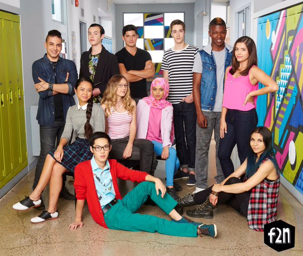 The cast of Degrassi: Next Class.