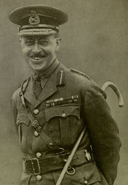 Le brigadier Richard Turner en 1917.