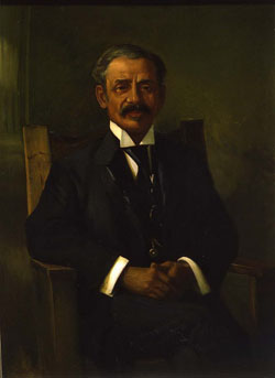 Portrait of William Hubbard