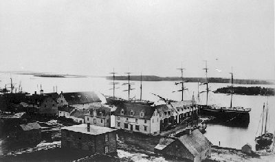 Yarmouth Harbour, 1871