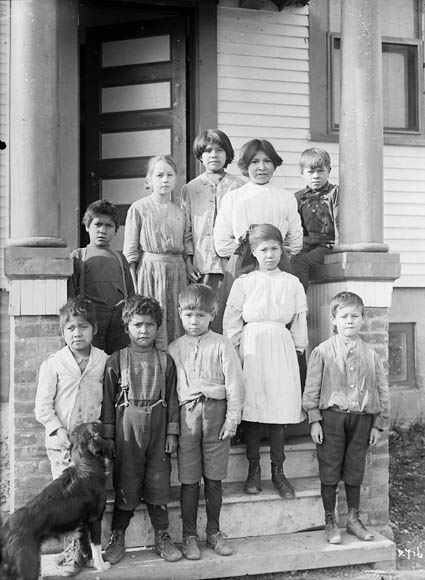 Residential School Students