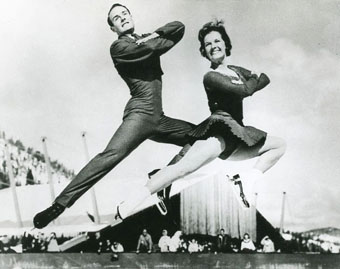 Barbara Wagner and Bob Paul, figure skaters