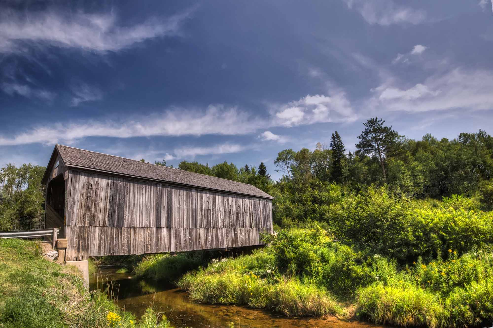 Covered Bridge, New Brunswick